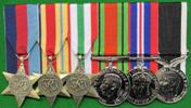 full WWI medals set