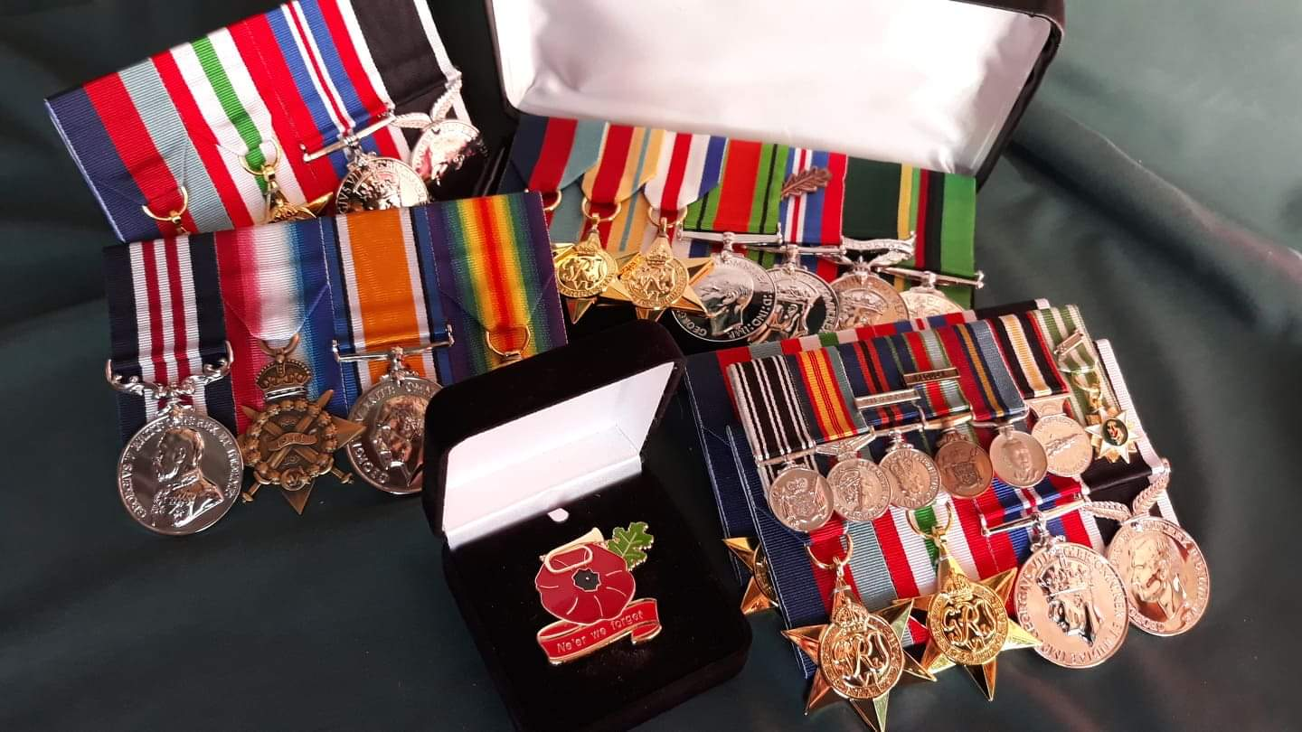 medals and accessories