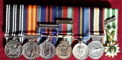miniature medals set